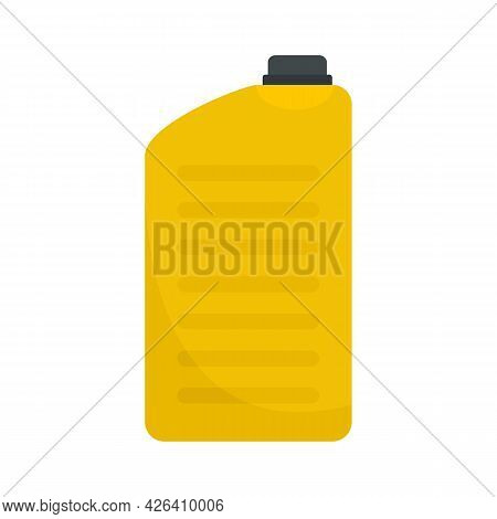 Yellow Canister Icon. Flat Illustration Of Yellow Canister Vector Icon Isolated On White Background