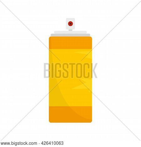 Empty Tin Can Icon. Flat Illustration Of Empty Tin Can Vector Icon Isolated On White Background