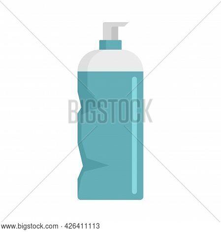 Used Dispenser Bottle Icon. Flat Illustration Of Used Dispenser Bottle Vector Icon Isolated On White