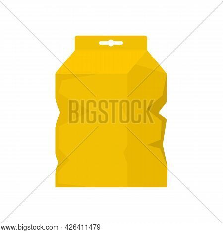 Garbage Package Icon. Flat Illustration Of Garbage Package Vector Icon Isolated On White Background