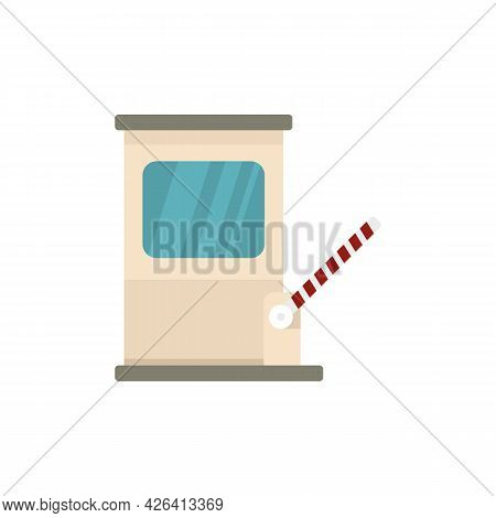 City Toll Road Icon. Flat Illustration Of City Toll Road Vector Icon Isolated On White Background