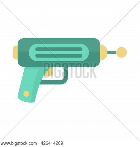 Cosmic Blaster Icon. Flat Illustration Of Cosmic Blaster Vector Icon Isolated On White Background