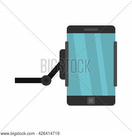 Phone Hanger Icon. Flat Illustration Of Phone Hanger Vector Icon Isolated On White Background