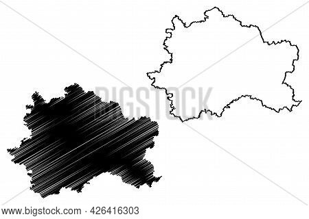 Furstenfeldbruck District (federal Republic Of Germany, Rural District Upper Bavaria, Free State Of