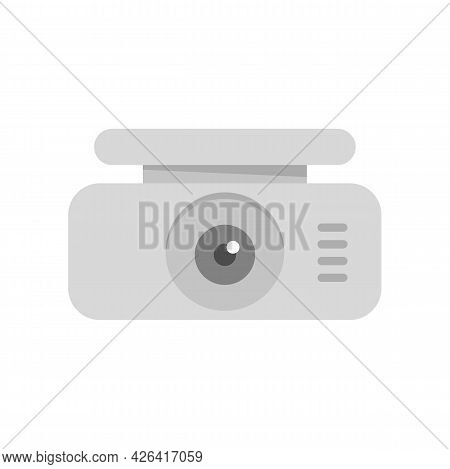 Spy Dvr Recorder Icon. Flat Illustration Of Spy Dvr Recorder Vector Icon Isolated On White Backgroun