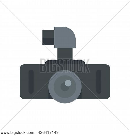 Hd Dvr Recorder Icon. Flat Illustration Of Hd Dvr Recorder Vector Icon Isolated On White Background