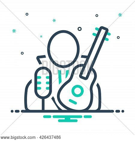 Mix Icon For Necrophagist Musician Composer Melodist Singer Instrument Playing