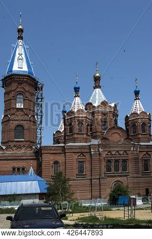 Yelets, Lipetsk Region, Russia , Temple Of The Yeletsky Icon Of The Mother Of God. Located In The Ar