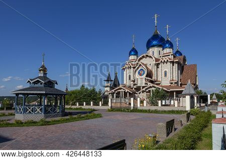 Church Of Michael The Archangel In The Village Of Busharino, Moscow Region, Russia.