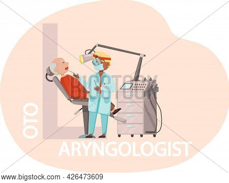 Medical Treatment And Healthcare Concept Consultation And Diagnosis. Adult Man On Medical Check-up W