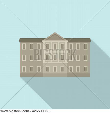 Ireland Parliament Icon Flat Vector. Dublin Skyline Palace. Parliament House