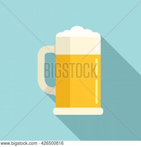 Irish Beer Mug Icon Flat Vector. Happy Beer Glass. Tankard Bar Bottle