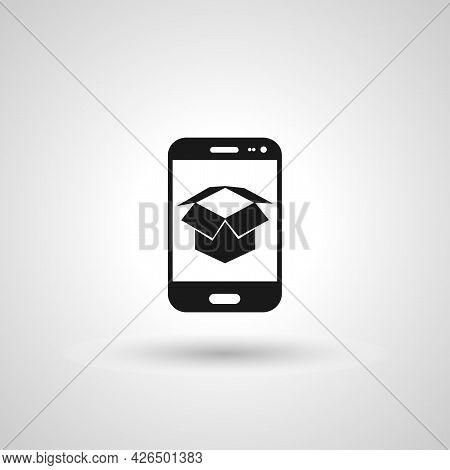 Ar App Sign. Ar App Isolated Simple Vector Icon