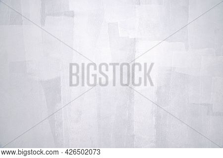 Wall Panel Grunge White,grey Concrete With Light Background. Dirty,dust Grey Wall Concrete Backdrop
