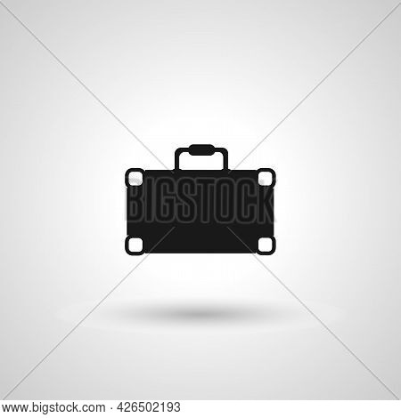 Briefcase Sign. Briefcase Isolated Simple Vector Icon