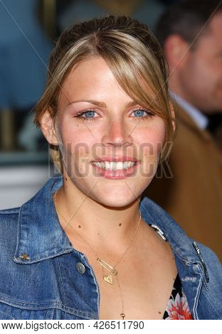 LOS ANGELES - MAY 14: Busy Philipps arrives to  ÔBruce AlmightyÕ World Premiere on May 14, 2003 in Hollywood, CA