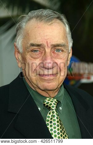 LOS ANGELES - MAY 14: Phillip Baker Hall arrives to  ÔBruce AlmightyÕ World Premiere on May 14, 2003 in Hollywood, CA