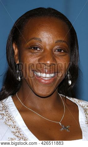 LOS ANGELES - JUN 20: Marianne Jean-Baptiste arrives to  TCA Summer Press Tour 2003-CBS Party on June 20, 2003 in Hollywood, CA