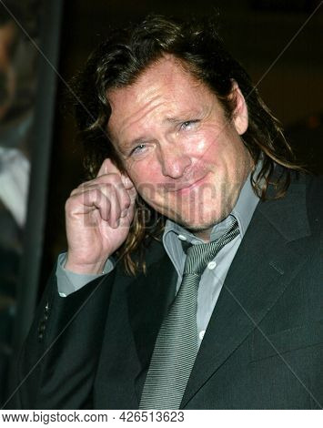 LOS ANGELES - NOV 02: Michael Madsen arrives to  the 'Die Another Day' Hollywood Premiere on November 02, 2002 in Los Angeles, CA