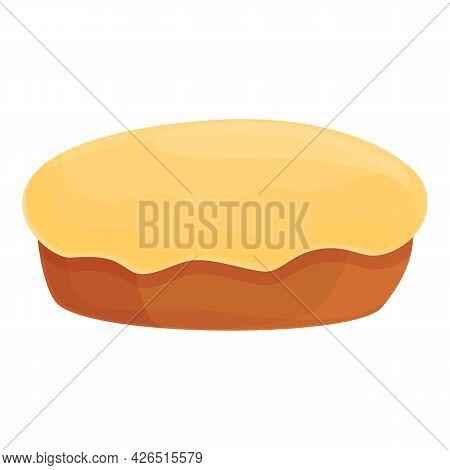 Homemade Cake Icon Cartoon Vector. Cream Food. Chocolate Eat Cake