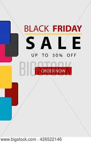 Black Friday Catalog Vector Design For A Weekend Offer. Celebrate And Enjoy Shopping Discounts For B