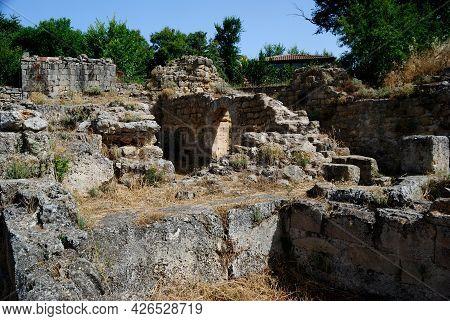 The Ruins Of Doria Castle, Monteleone Rocca Doria