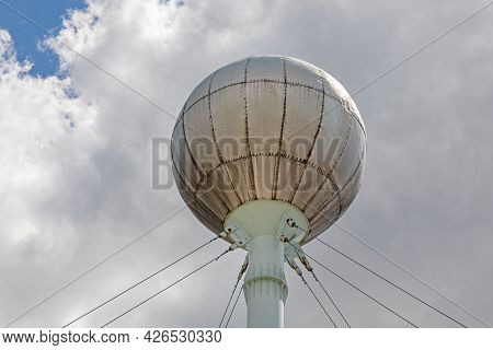 Old Water Tower Structure In Szeged Hungary