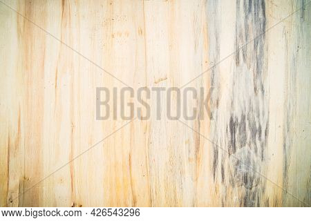 The Brown Plywood Texture Customizes An Interesting Abstract Line For The Background. The Art Of The
