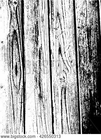 Vector Wood Wall Texture. Illustration For Backgrounds, Print, Wallpaper, And Other