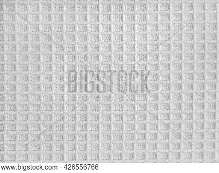 White Canvas Fabric For The Background, Light Linen Texture. Cotton Fabric Template Towel. Pattern C