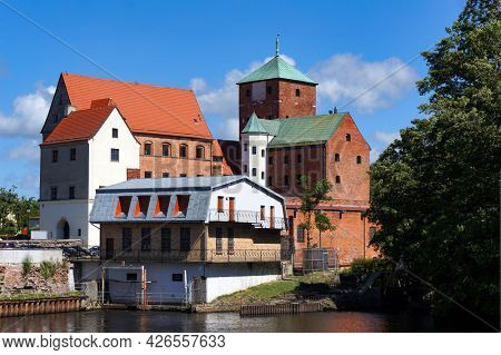 Medieval castle of the Pomeranian Princes in Darlowo, Poland.