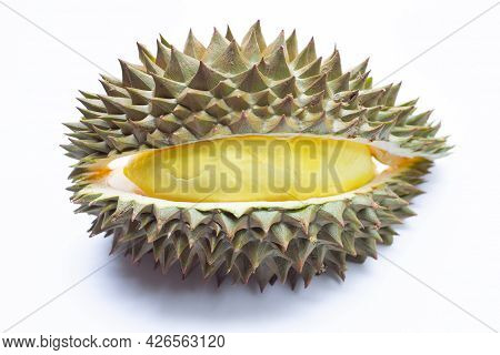 Delicious Tropical Fruit, Fresh Yellow Ripe Durian