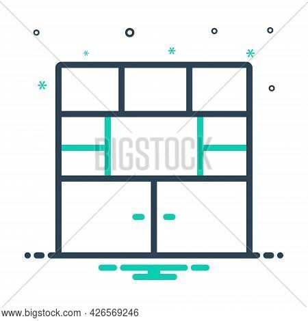 Mix Icon For Furniture Cupboard Cabinet Closet  Shelf Wardrobe