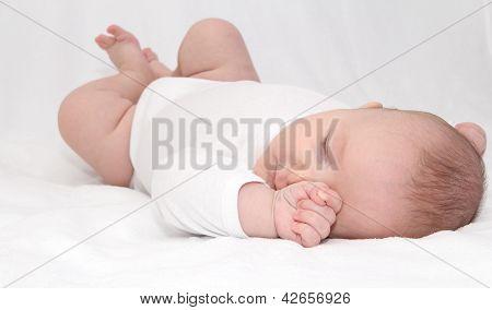 Beautiful Sleeping Infant