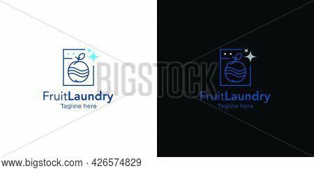 Modern And Unique Laundry Logo Design With An Attractive And Attractive Appearance