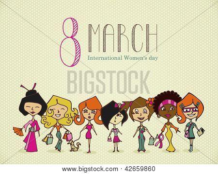 Diversity 8 March Women Day