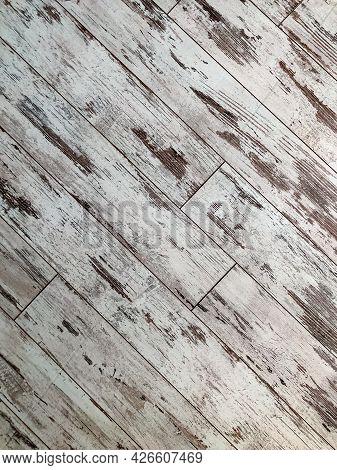 Light Wooden Laminate Parquet Flooring Texture Or Background