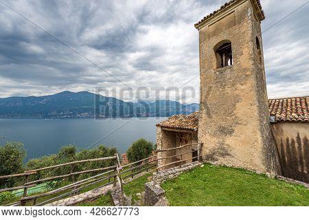 Small Church Of San Antonio Abate (saint Anthony Abbot) In Romanesque Style, Xiii-xiv Century, Blaza