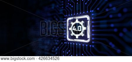 Smart Industry 4.0 Manufacturing Innovation Technology Iot Concept