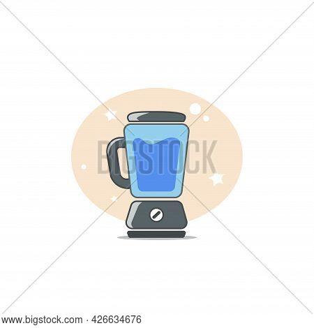 Blender Clipart. Blender Isolated Simple Vector Clipart