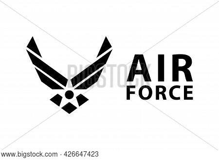 Usa U.s. Air Force Logo Sign Symbol