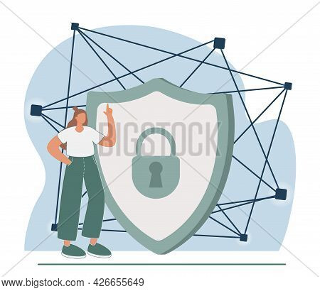 Application Service Abstract Concept Vector Illustration. Saas Technology, Packaged Software, Decent
