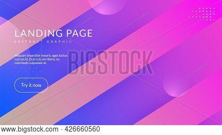 Futuristic Cover. Modern Layout. Bright Paper. Spectrum Illustra