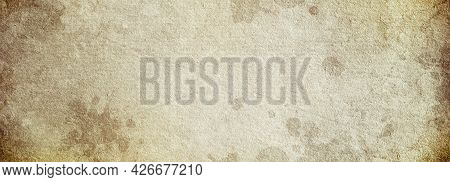 Vintage Background Made Of Old Brown Paper With Space For Text