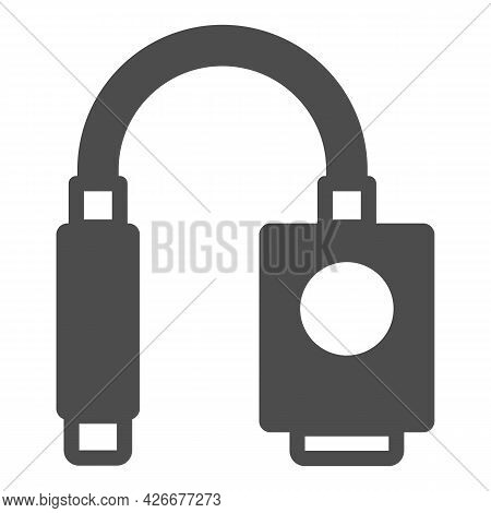 Vga Hdmi Adapter Solid Icon, Tv Accessories Concept, Vga Hdmi Convector Vector Sign On White Backgro