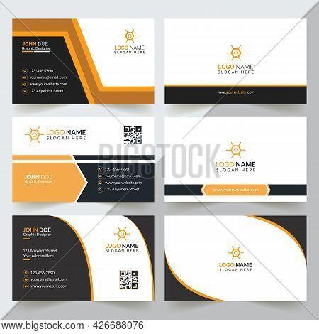 Modern Professional Business Card Template, Simple Business Card, Business Card Design Template, Corporate Business Card Design, Colorful Business Card Template, Creative Business Card, Editable Business Card, Abstract Business