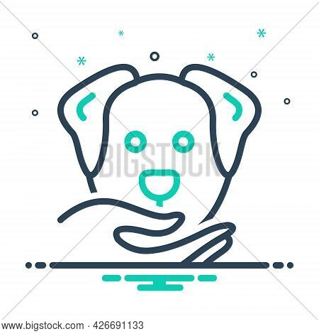 Mix Icon For Obedient Compliant Dutiful Cooperative Adorable