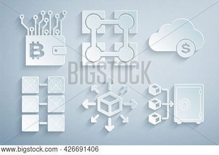 Set Distribution, Cryptocurrency Cloud Mining, Mining Farm, Proof Of Stake, Blockchain Technology An