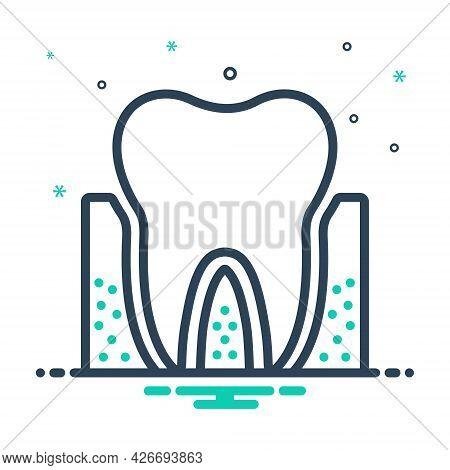 Mix Icon For Periodontics Dental Teeth Dental-care Dental-logos Smile Dental-clinics Orthodontic