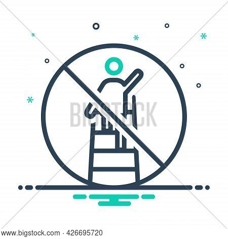 Mix Icon For Overreach Restriction Estoppel Remonstrant Citizen People